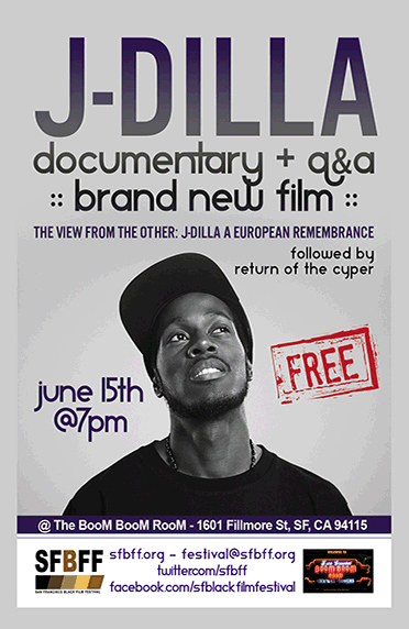 J Dilla Documentary Flyer